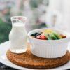 витаминный салат с клубникой и киви